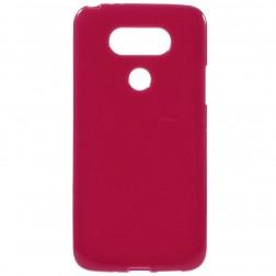 Cieta silikona (TPU) apvalks - sarkans (G5 / G5 SE)