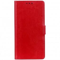Atvērams maciņš, grāmata - sarkans (G8s Thinq)