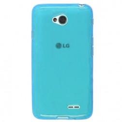 """Jelly Case"" cieta silikona futrālis - gaiši zils (L70)"