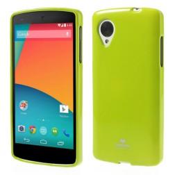 """""""Mercury"""" futrālis - zaļš (Nexus 5)"""