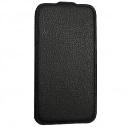 Vertikāli atvēramais futrālis - melns (Nexus 5)