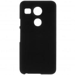 Plastmasas apvalks - melns (Nexus 5X)