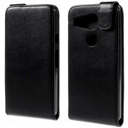Klasisks atvēramais maciņš - melns (Nexus 5X)