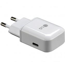 """""""LG"""" Type-C tīkla lādētājs - balts (3 A)"""