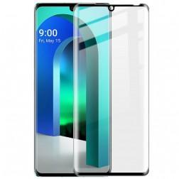 """Imak"" Tempered Glass pilnīgi aizsedzams ekrāna aizsargstikls 0.2 mm - melns (Velvet)"