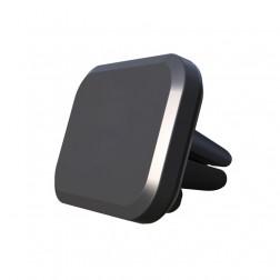 Magnētiskais automašīnas telefona turētājs (restēm) - melns