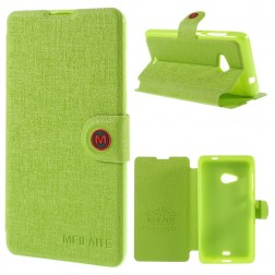 """""""Meilate"""" atvēramais maciņš - zaļš (Lumia 535)"""
