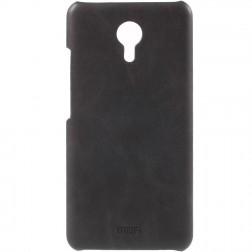 """Mofi"" Slim Leather ādas apvalks - melns (m3 note)"