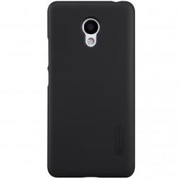 """Nillkin"" Frosted Shield apvalks - melns + ekrāna aizsargplēve (M3s)"