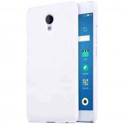 """Nillkin"" Frosted Shield apvalks - balts + ekrāna aizsargplēve (m5 note)"