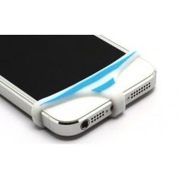 Telefona apakšbikses - balta, zila