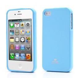 """""""Mercury"""" futrālis - gaiši zils (iPhone 4 / 4S)"""