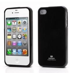 """""""Mercury"""" futrālis - melns (iPhone 4 / 4S)"""