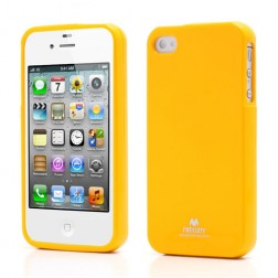 """Mercury"" futrālis - dzeltens (iPhone 4 / 4S)"
