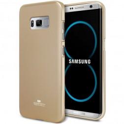 """Mercury"" apvalks - zelta (Galaxy S8+)"