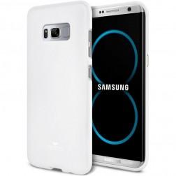 """Mercury"" apvalks - balts (Galaxy S8+)"
