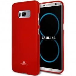"""Mercury"" apvalks - sarkans (Galaxy S8+)"