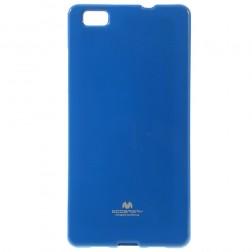 """""""Mercury"""" futrālis - timši zils (P8 Lite)"""