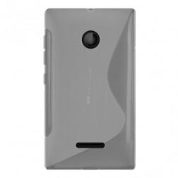 Cieta silikona (TPU) apvalks - dzidrs (Lumia 435)