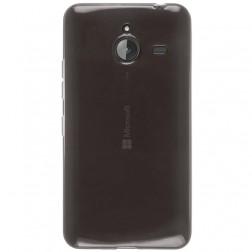 Planākais TPU dzidrs apvalks - pelēks (Lumia 640 XL)