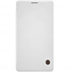 """Nillkin"" Qin atvēramais maciņš - balts (Lumia 950 XL)"