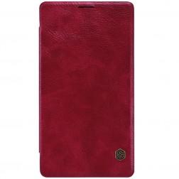 """""""Nillkin"""" Qin atvēramais maciņš - sarkans (Lumia 950 XL)"""