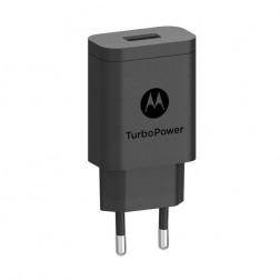 """Motorola"" Turbo Power tīkla lādētājs - melns (15W)"