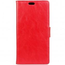 Atvēramais maciņš, grāmata - sarkans (Moto G4 / Moto G4 Plus)