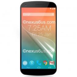 """""""Calans"""" ekrāna aizsargplēve - matēta (Nexus 6)"""