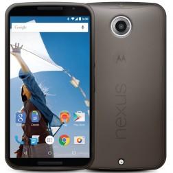 Planākais TPU dzidrs apvalks - pelēks (Nexus 6)