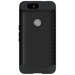 Pastiprinātas aizsardzības apvalks - melns (Nexus 6P)