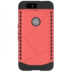 Pastiprinātas aizsardzības apvalks - sarkans (Nexus 6P)