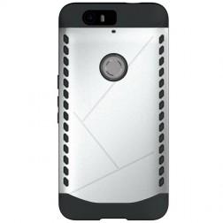 Pastiprinātas aizsardzības apvalks - sudrabs (Nexus 6P)