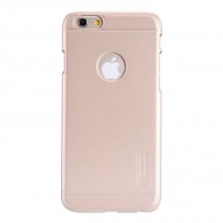 """Nillkin"" Frosted Shield futrālis - zelta + ekrāna aizsargplēve (iPhone 6 / 6s)"