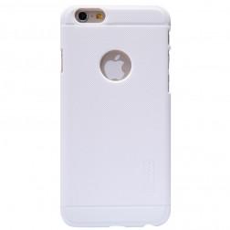 """Nillkin"" Frosted Shield futrālis - balts + ekrāna aizsargplēve (iPhone 6 / 6s)"