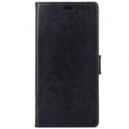 Atvēramais maciņš, grāmata - melns (Nokia 1)