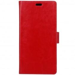 Atvēramais maciņš, grāmata - sarkans (Nokia 1)