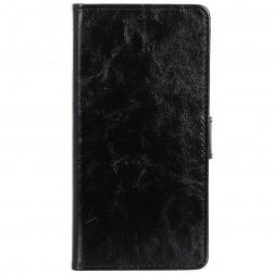 Atvēramais maciņš, grāmata - melns (Nokia 2.2)