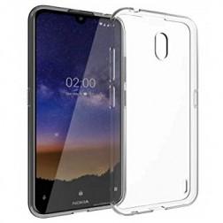 Cieta silikona (TPU) apvalks - dzidrs (Nokia 2.2)