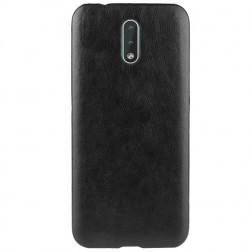 Soft Slim ādas apvalks - melns (Nokia 2.3)