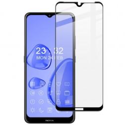 """Imak"" Tempered Glass ekrāna aizsargstikls 0.26 mm - melns (Nokia 2.4)"