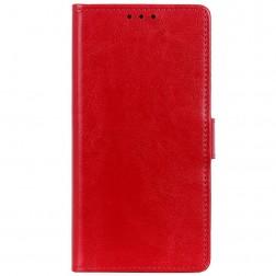 Atvēramais maciņš, grāmata - sarkans (Nokia 2.4)