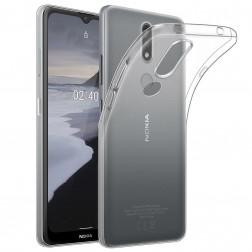 Cieta silikona (TPU) apvalks - dzidrs (Nokia 2.4)