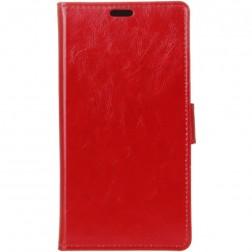 Atvēramais maciņš, grāmata - sarkans (Nokia 2)