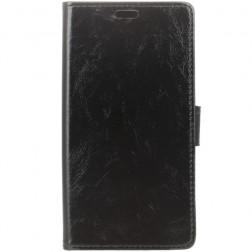 Atvēramais maciņš, grāmata - melns (Nokia 2)