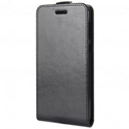 Klasisks atvēramais maciņš - melns (Nokia 2)