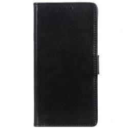 Atvēramais maciņš, grāmata - melns (Nokia 3.4)