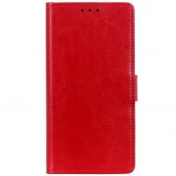 Atvēramais maciņš, grāmata - sarkans (Nokia 3.4)