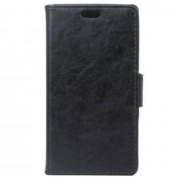 Atvēramais maciņš, grāmata - melns (Nokia 3)