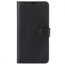 """""""Litchi"""" atvēramais maciņš, grāmata - melns (Nokia 3)"""